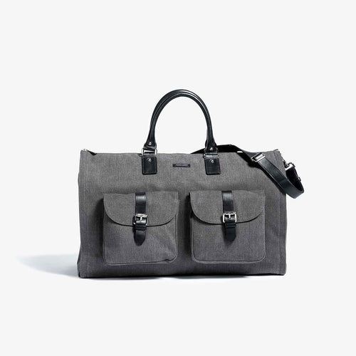 First Generation - Gray Garment Weekender Bag - Sample Sale