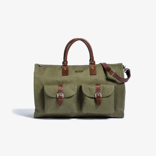 First Generation - Olive Garment Weekender Bag - Sample Sale