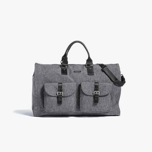 First Generation - Melange Garment Weekender Bag - Sample Sale