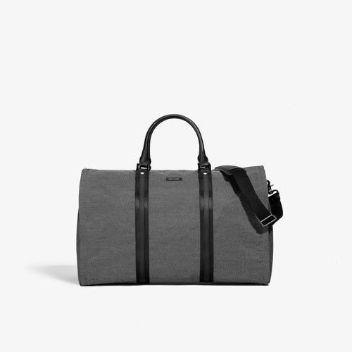 Men's Gray Ballistic Garment Weekender Bag - Sample Sale