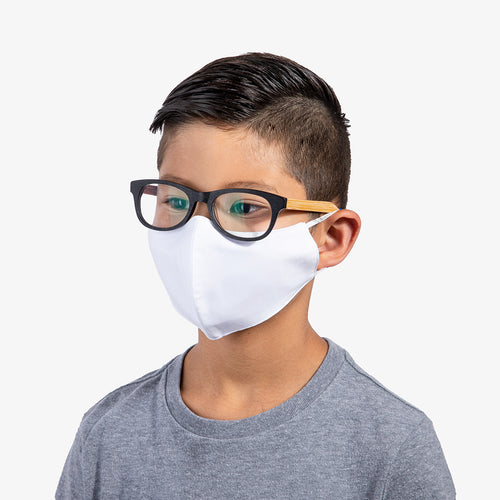 White 3-Layer Nano-Guard Mask (4 Pack) - SMALL