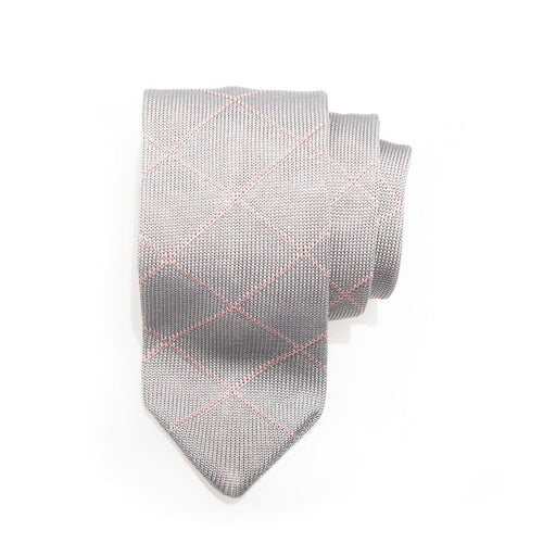 Canopies Diamond Silk Knit Tie
