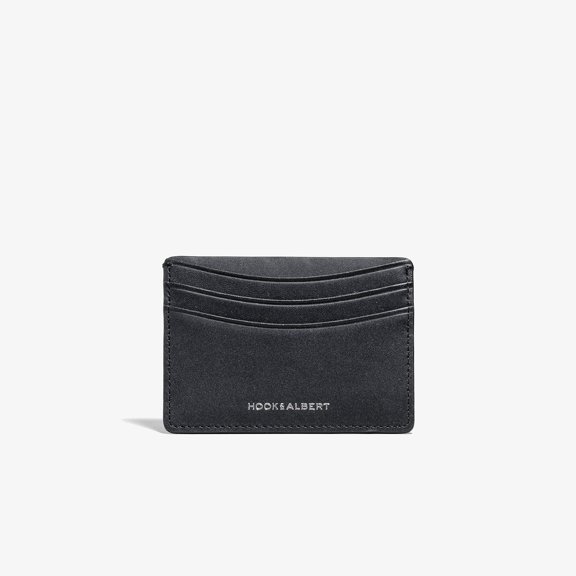 350a20053d Black Smooth Leather Card Holder