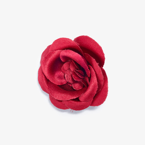 Red Breaker Large Buttercup Lapel Flower