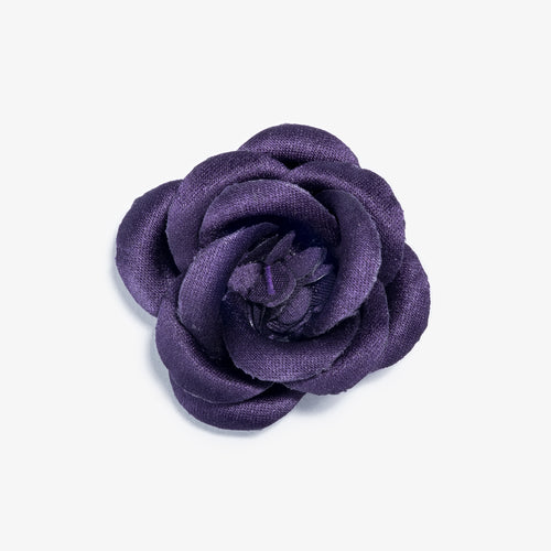 Catacombs Purple Large Lapel Flower