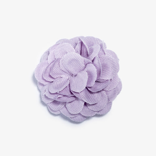 Lavender Lapel Flower - Large