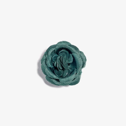 Sparta Green Lapel Flower