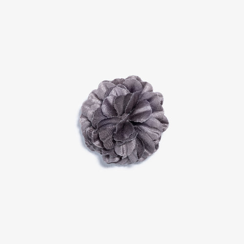 Mini Gray Small Lapel Flower