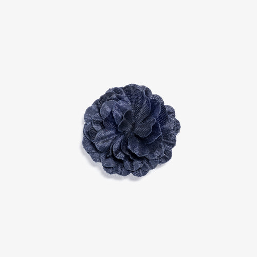 Mini Navy Small Lapel Flower