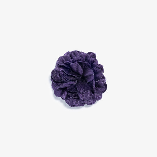 Mini Purple Small Lapel Flower