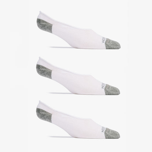 No Show Sock 3 Pack - White