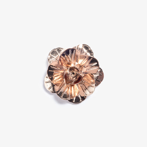 Rose Gold Metal Lapel Pin