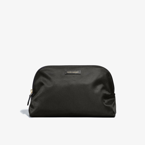 Toiletry Bag - Black Fabric