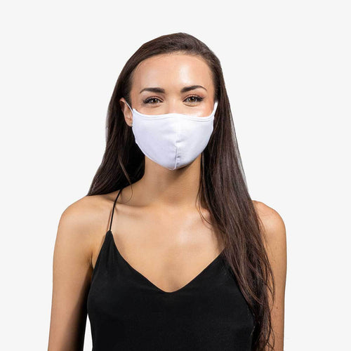White 3-Layer Nano-Guard Mask (4 Pack) - MEDIUM