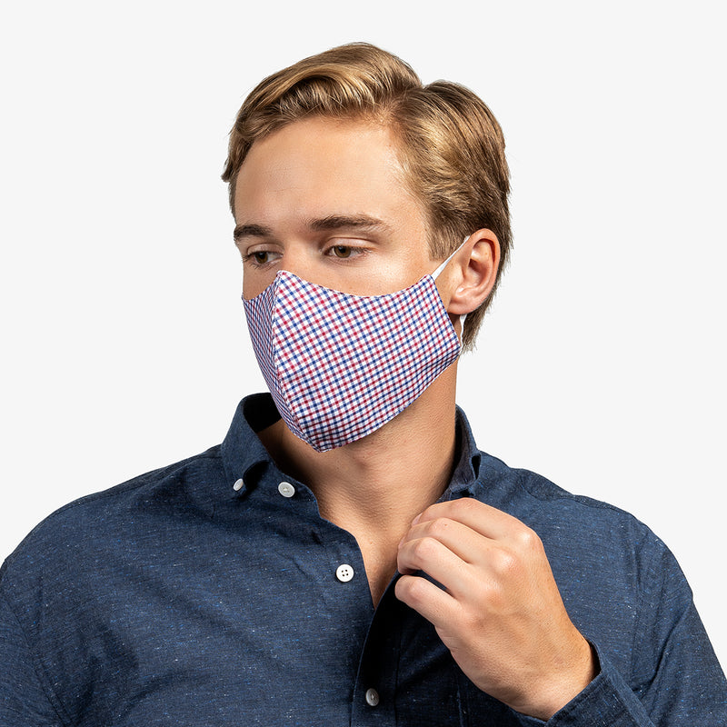 3-Layer Adult Cotton Mask - The Weekday Collection (5-Pack)