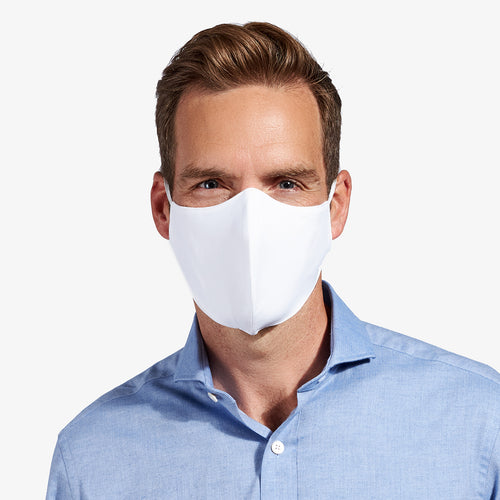 White 3-Layer Nano-Guard Mask (4 Pack) - LARGE