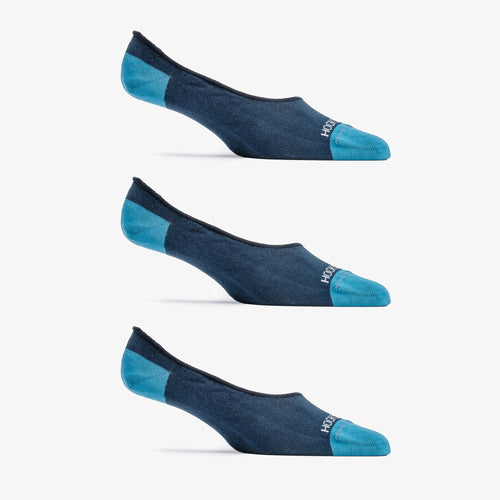 No Show Sock 3 Pack - Navy
