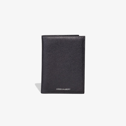 Passport Cover - Black Leather