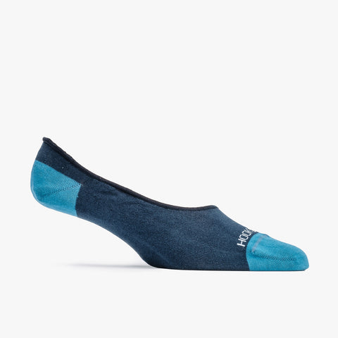 Navy No Show Sock