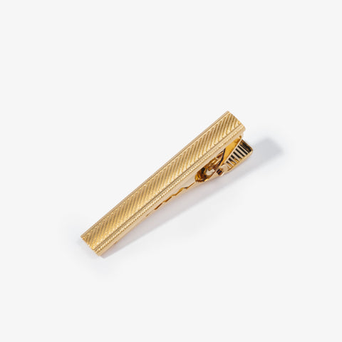 Gold Hatch Marks Tie Bar
