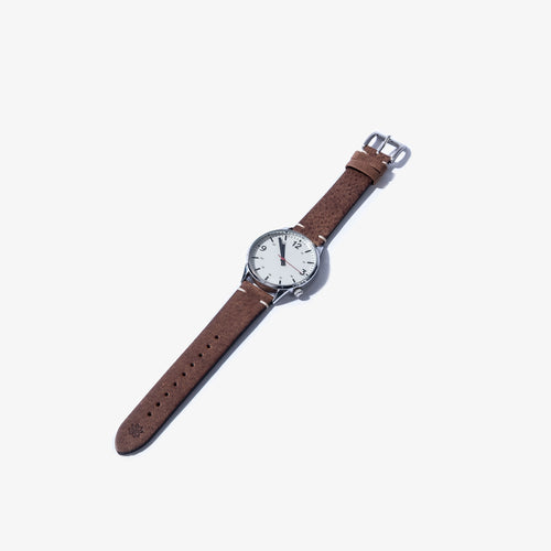 20mm Chestnut Vintage Leather Watch Strap