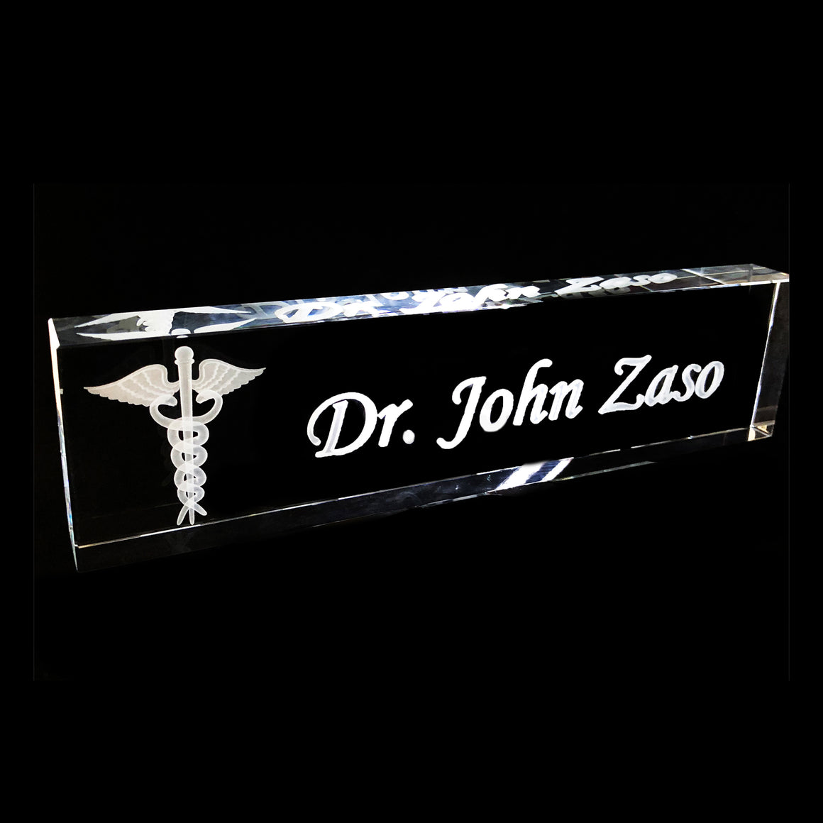 "Name Plate 10"" Starting at"