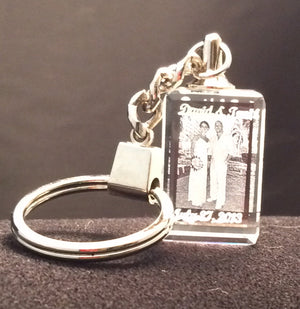 KEYCHAIN WITH YOUR 2D OR 3D IMAGES Starting at