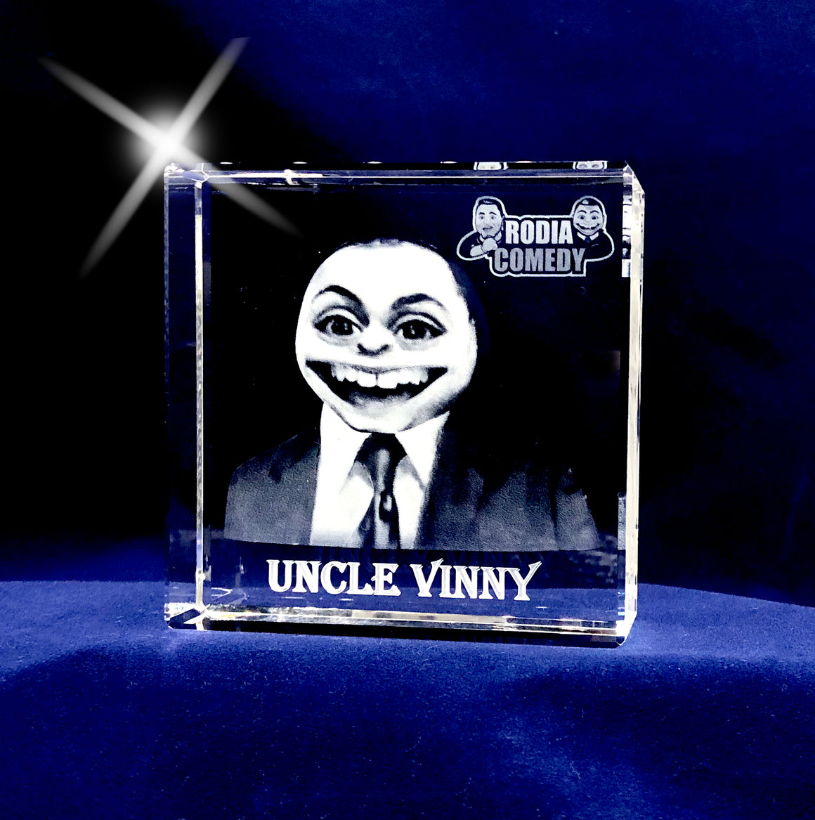 Uncle Vinny in a crystal!
