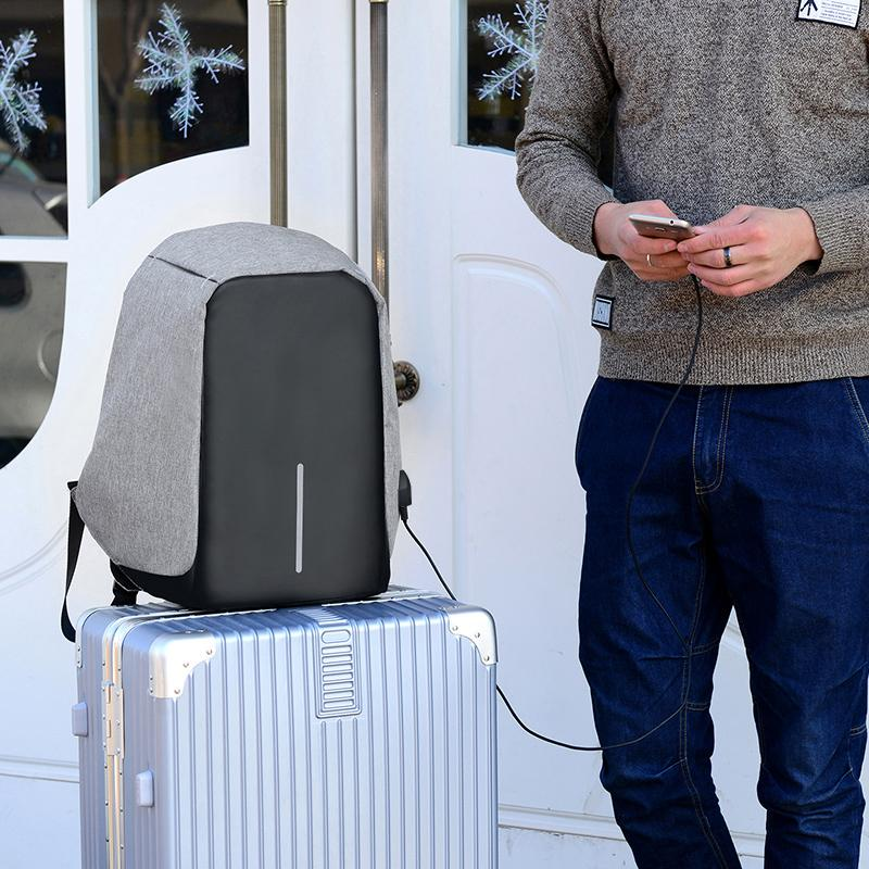 Anti-Theft Backpack with USB Charging
