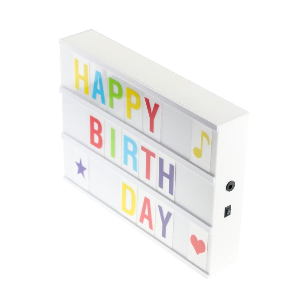 Light Box with Letter