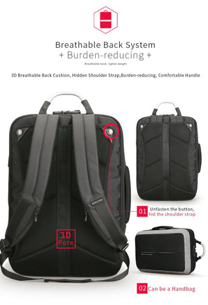 Anti-Thief Charger Backpack