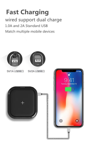 QI Wireless Charger Power Bank