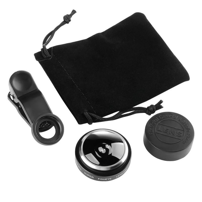 Super Fisheye Smartphone Camera Lense