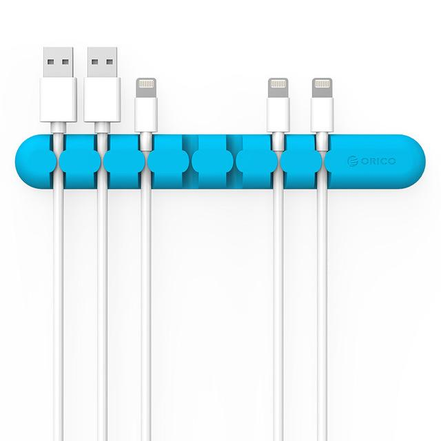 Silicon Desk Cable Organiser