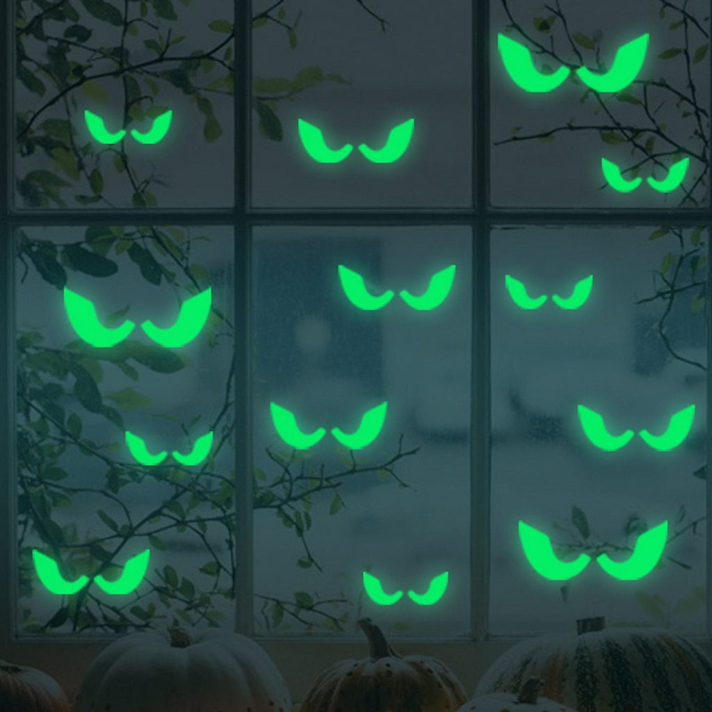 Glowing In The Dark Eyes Halloween Decoration