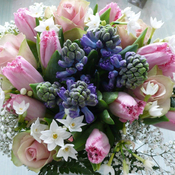 Posy in Pinks & Blues