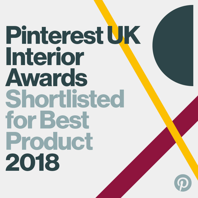 Pinterest UK Interiors Award shortlist - Best Product