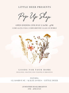 Little Deer presents... Pop Up Shop