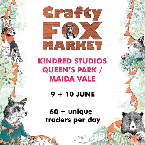 Crafty Fox Summer Market event flier