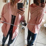 High Quality Pink Casual Women Jacket Coats Ladies Long Sleeve - layanestore.myshopify.com-[product_type]