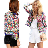 2019 Women Jackets Bohemian Floral Embroidery - Layon&Loli