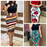 Women Summer Dress 2019 Plus Sizes 3XL Sexy Vintage Elegant - Layon&Loli