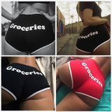 Female Cotton Running Sport Workout Short Pants Summer Sexy - Layon&Loli