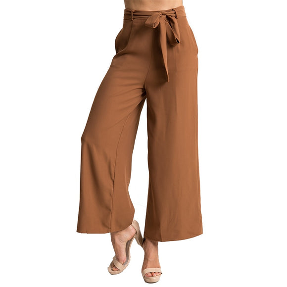 wide leg pants for women Loose mid-rise waist trousers half-length sexy cropped female position streetwear plus size - Layon&Loli