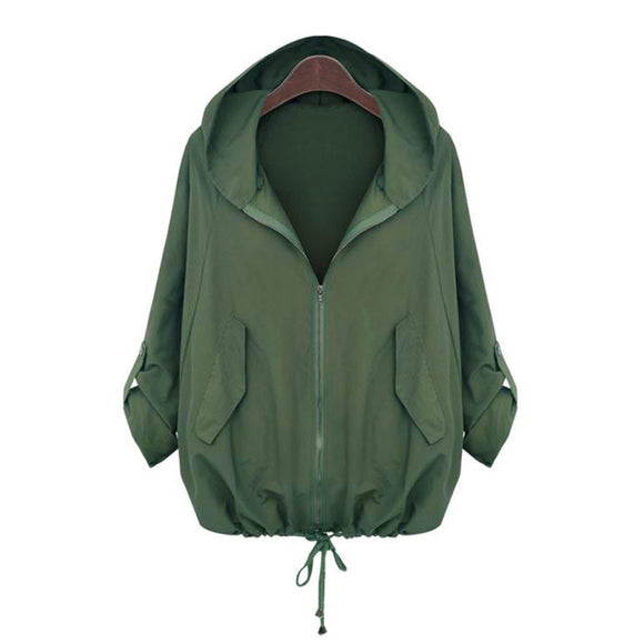 Army Green Jacket Women Long Sleeve  Jackets Coat 2019 casaco - Layon&Loli