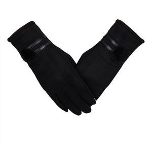 Winter women gloves lovely Mittens thick Warm - Layon&Loli