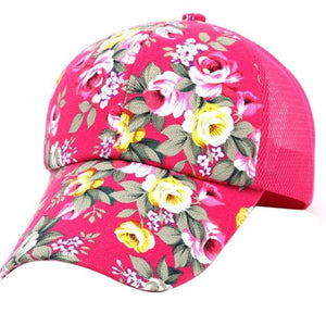 women men Cotton Baseball Cap print - Layon&Loli
