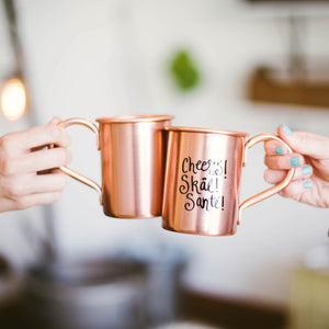 Copper Moscow Mule Mugs
