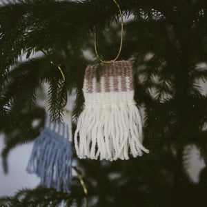 Handmade Ornament Weavings