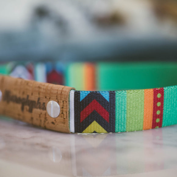 Large Tribal Print Pet Collar
